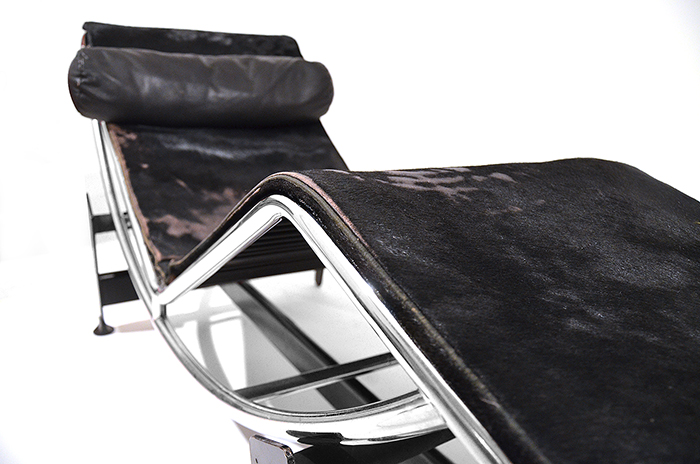 1928 Le Corbusier Early Lc 4 By Cassina In Chrome With