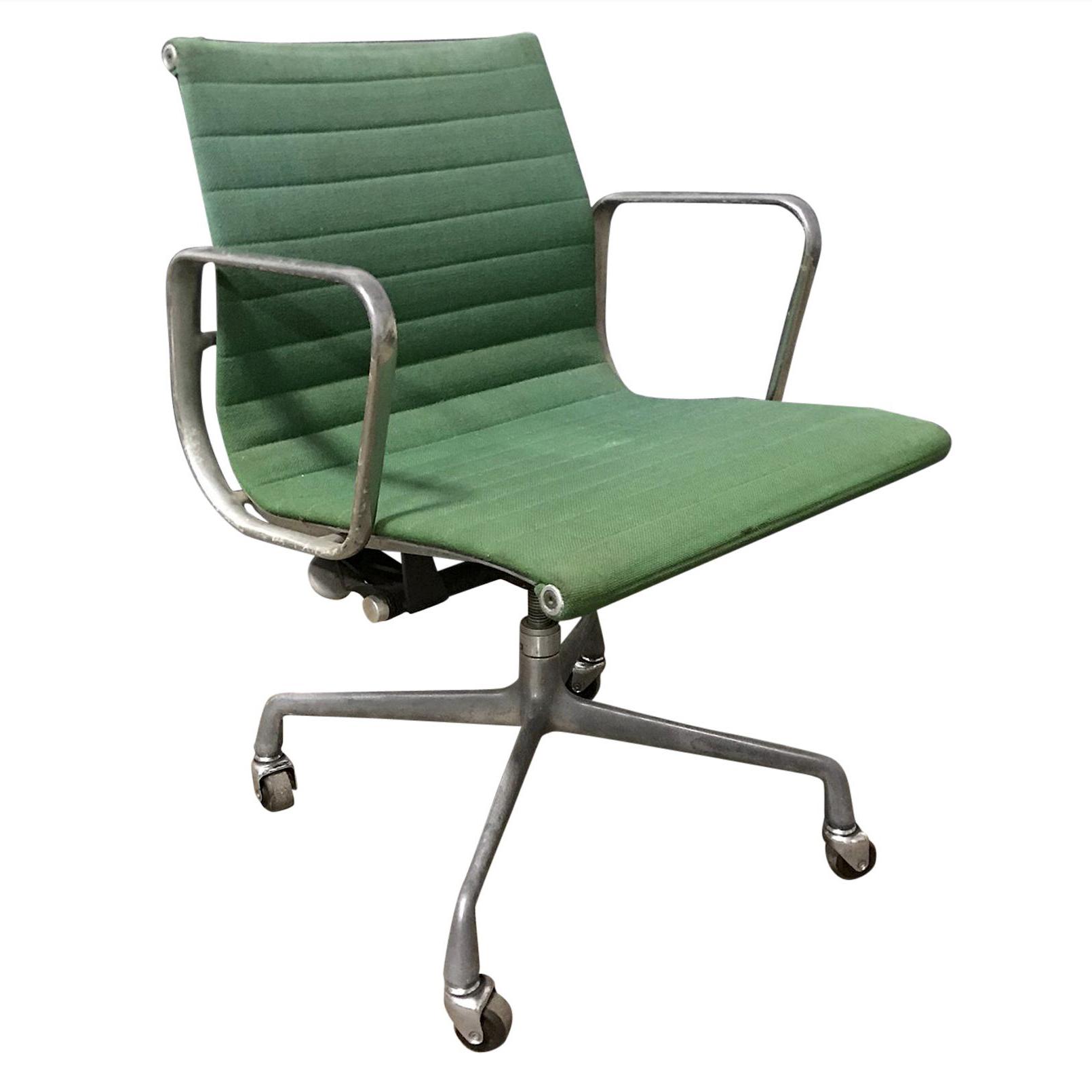 1958 Ray Charles Eames For Herman Miller Full Option Rare Green Desk Chair Godrie Eu