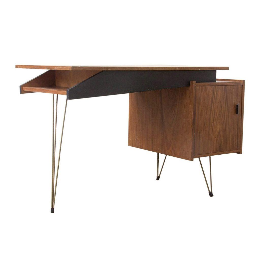 Wooden Tiny Elegant Office Desk